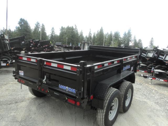 2018 Load Trail 6X10 10K w/Tarp Kit and Ramps  Dump Trailer