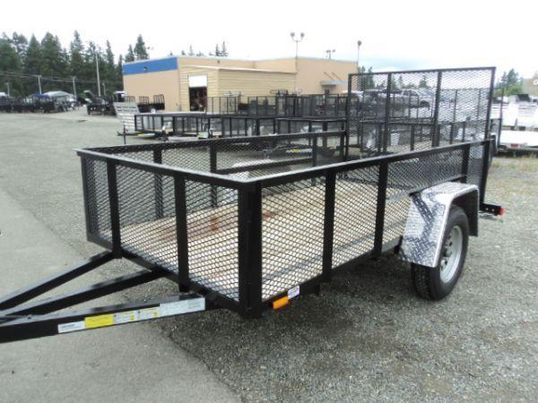 2016 Cargo Mate 5X10 WITH MESH SIDES Utility Trailer