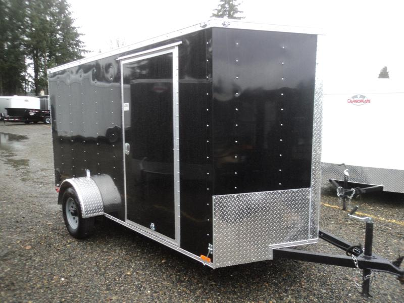 2018 Cargo Mate E-series 6X12 Cargo Trailer With Ramp