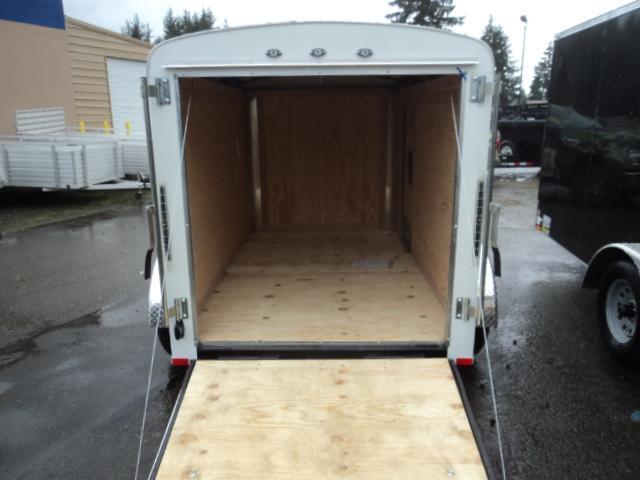 2018 Cargo Mate Blazer 5x8 w/Rear Ramp Door and 6