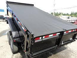 2017 Load Trail 7x12 14K w/Tarp Kit/Ramps/Scissor Lift  Tandem Axle Dump