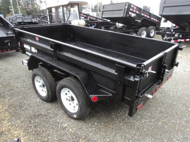 2018 PJ Trailers 5x10 7k w/Tarp Kit/Ramps/Spare Tire Mount Dump Trailer
