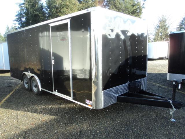 2017 Cargo Mate E-series 8.5X20 7K w/Rear Ramp Door and Ram Electric Jack