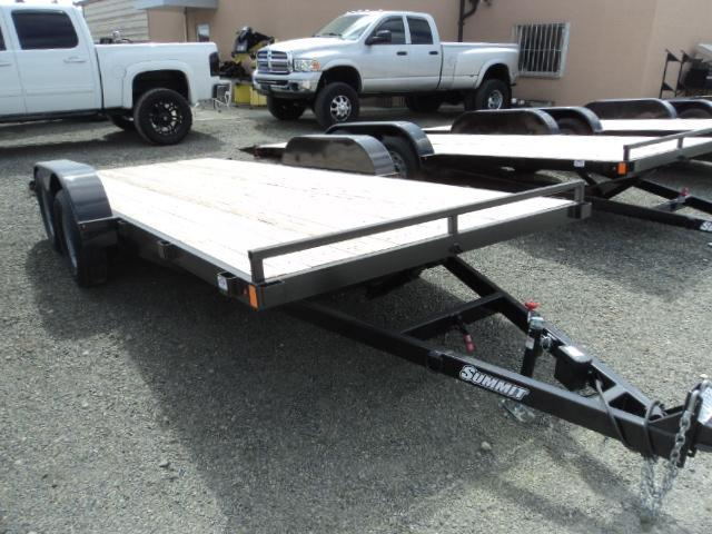 2017 Summit Alpine 7x16 7K Tilt Car / Racing Trailer