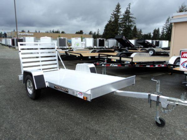 2017 Aluma 5410 WITH REAR RAMP Utility Trailer