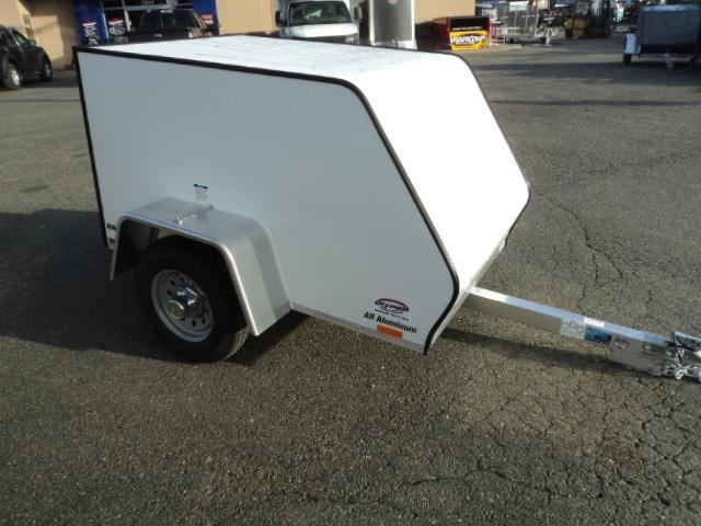2017 Rance Aluminum 4X6 Cargo Enclosed Utility Trailer