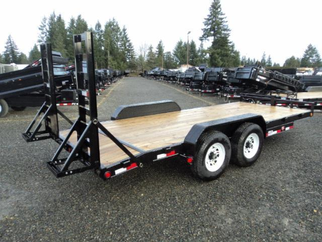"2018 PJ Trailers 16' x 6"" Channel Equipment Trailer"
