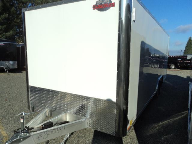 2018 Cargo Mate Aluminum E-series 8.5x24 10K Enclosed Cargo Trailer