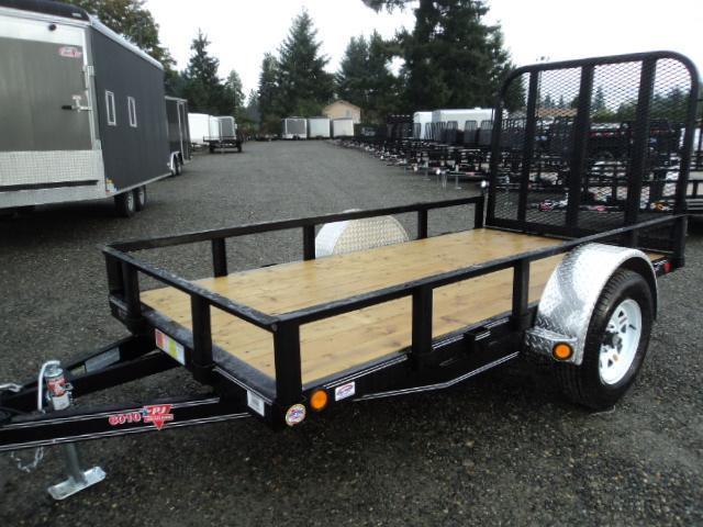 2017 PJ Trailers 6.5x10 Single Axle Utility Trailer