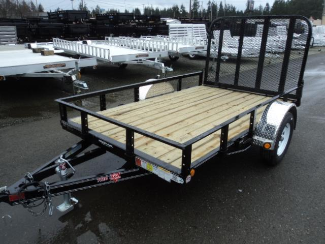 2018 PJ Trailers 6.5x10 Single Axle Utility Trailer