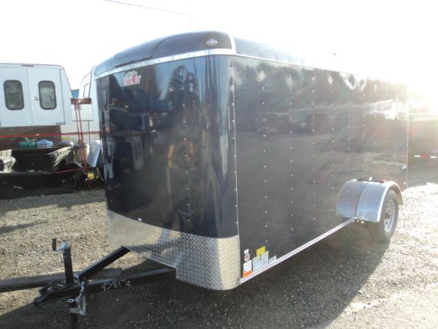 2018 Cargo Mate Blazer 6X12 w/Rear Ramp and RV Side Door
