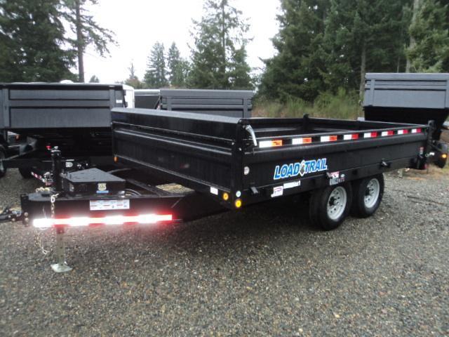 2017 Load Trail 8X16 14K Deckover Dump