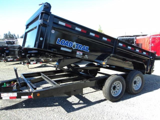 2017 Load Trail 7X14 14K Tandem Axle Dump w/Tarp Kit/Ramps/Scissor lift
