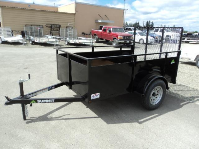 2017 Summit Alpine 5X8 Single Axle Utility Trailer w/Ramp Gate