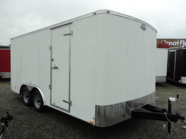 2018 Cargo Mate Challenger 8.5x16 7K w/Rear ramp door