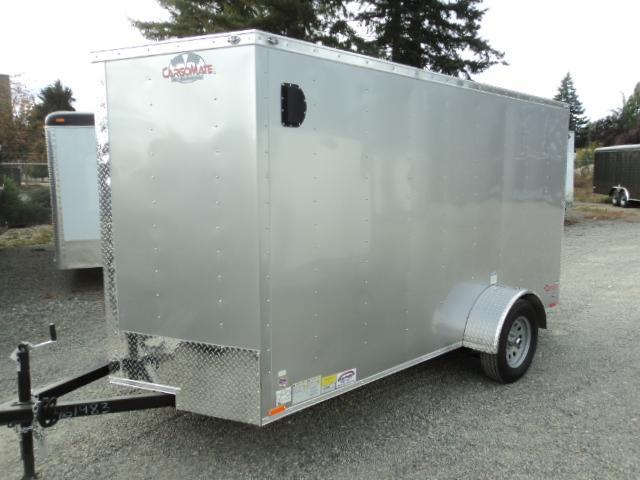 2018 Cargo Mate E-SERIES 6X10 Wedge w/Rear Cargo Doors