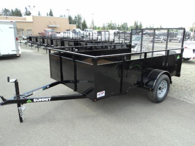 2017 Summit Alpine 6x12 Single Axle Utility Trailer