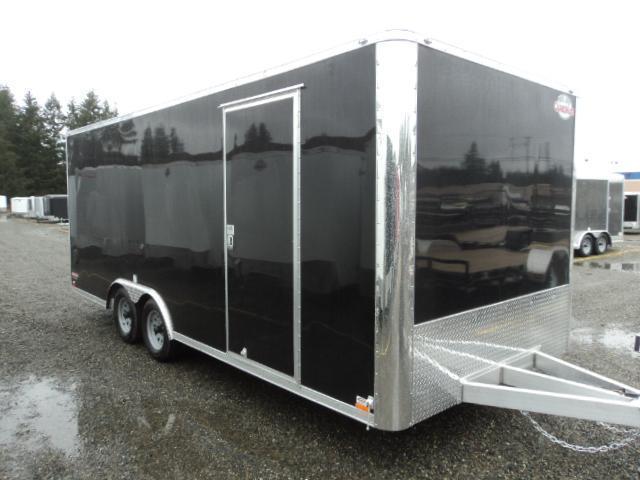 2017 Cargo Mate Aluminum E-Series 8.5x20 7k w/Rear Ramp Door/Ceiling Liner