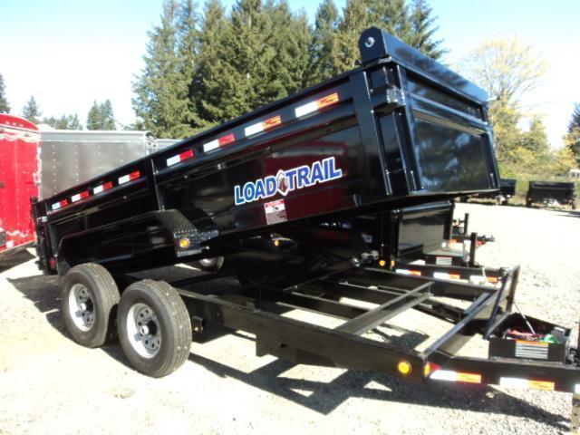 2017 Load Trail 7X14 Tandem Axle Dump (with scissor lift)