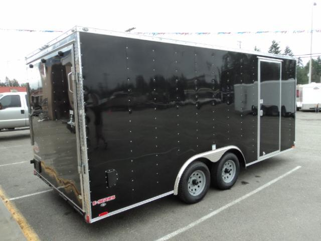 2018 Cargo Mate E-series 8.5x20 7K w/Cabinet/Ceiling Liner ++ Enclosed Cargo Trailer