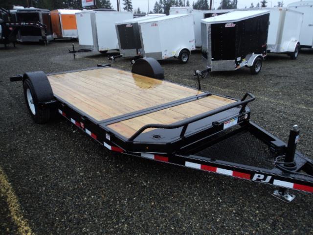 2018 PJ Trailers 16' 7K Single Axle HD Tilt Trailer