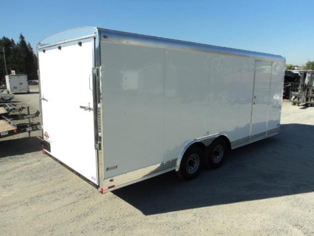 2018 Cargo Mate Blazer 8.5x20 7K WITH RAMP DOOR