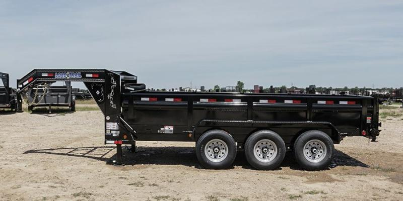 2017 Load Trail 7X16 21K Gooseneck Dump Trailer