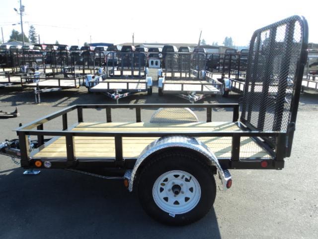 2016 PJ Trailers 5X8 Single Axle Utility Trailer