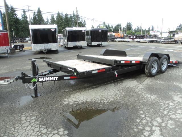 2018 Summit Denali Pro 7x20 14K Tiltbed  Car / Racing Trailer