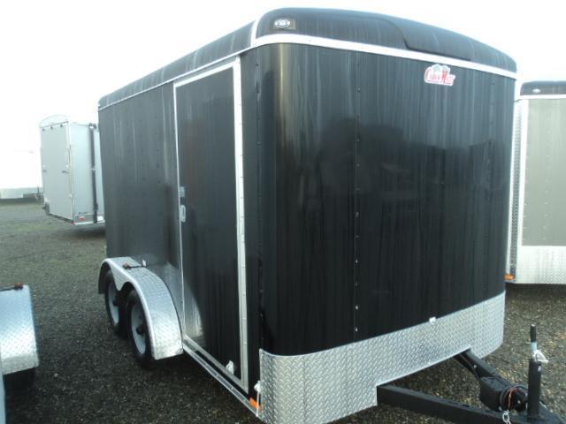 2018 Cargo Mate Blazer 7X12 7K w/Rear ramp door Enclosed Cargo Trailer