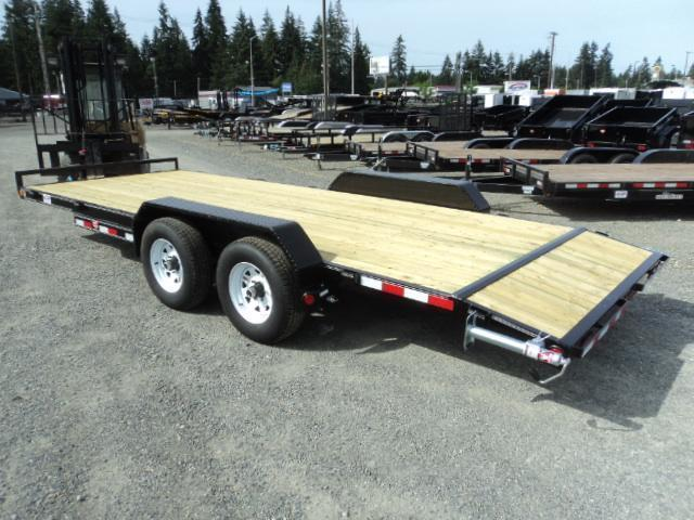 2018 PJ Trailers 7X20 10K Channel Equipment Trailer