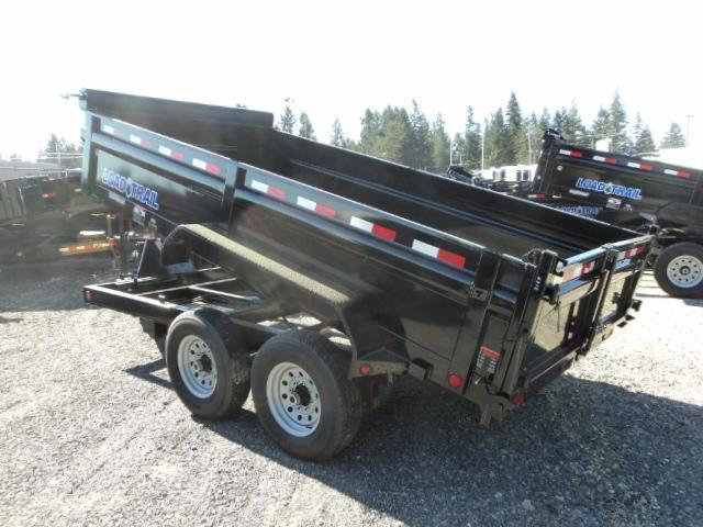 "2018 Load Trail 7X14 14K w/Tarp Kit/24"" sides/Ramps Tandem Axle Dump (with scissor lift)"