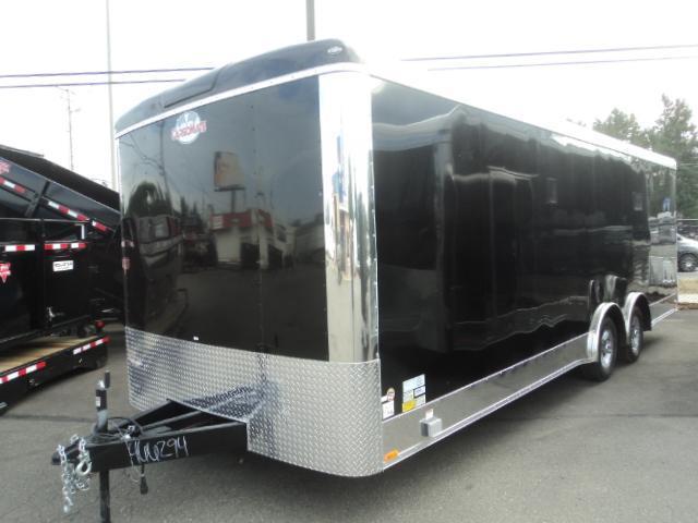 "2018 Cargo Mate Blazer Car Hauler 8.5x24 10K w/6"" Additional Height"