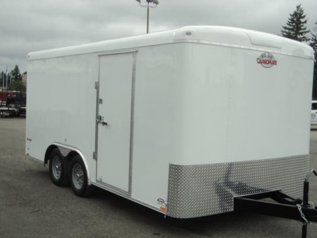 2018 Cargo Mate Blazer 8.5x16 7k W/Rear Barn doors