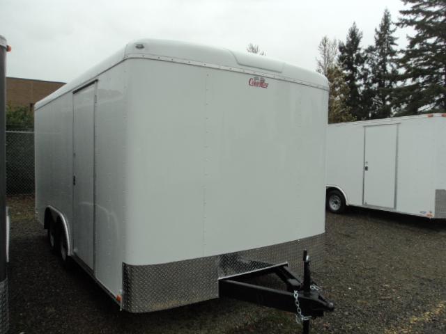 2018 Cargo Mate Blazer 8.5x16 7K w/extra height + Ramp door