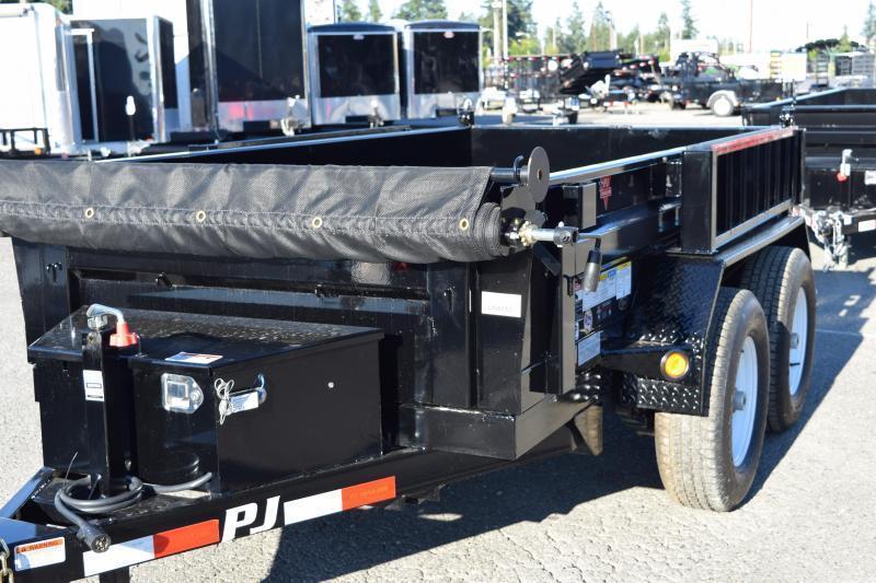 2018 PJ Trailers 5x10 10K w/Tarp Kit and Ramps Dump Trailer