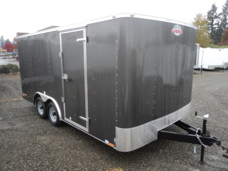 2017 Cargo Mate Challenger 8.5x16 7k W/rear ramp door