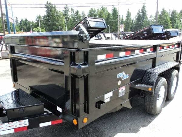 2018 Load Trail 7x12 14K w/Tarp Kit Tandem Axle Dump