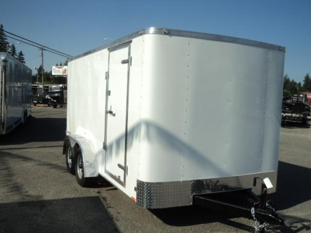 2018 Cargo Mate 7x16 Challenger Enclosed Trailer With Ramp Door
