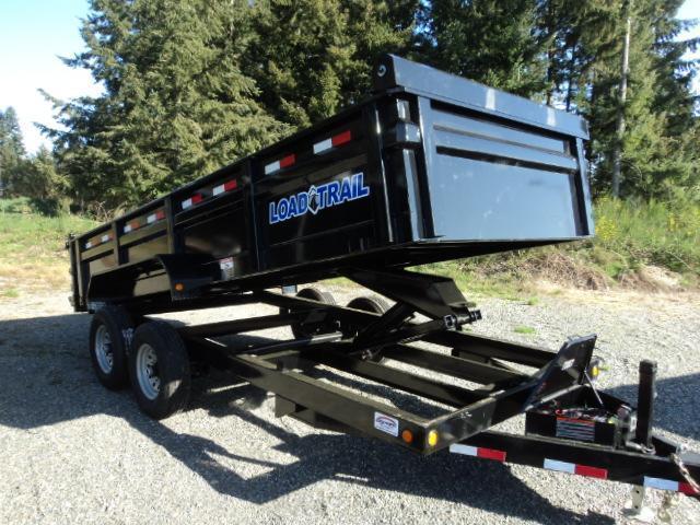2017 Load Trail 7x14 14K Tandem Axle Dump (with scissor lift)