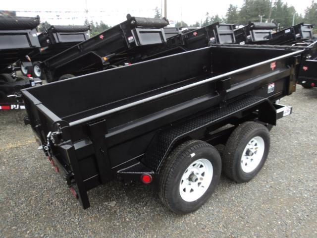 2018 PJ Trailers 5x10 7k w/Spare tire mount and tarp kit