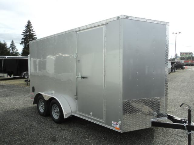 2018 Cargo Mate E-Series 7x14 7K w/Extra Height/Spare Tire/D-rings