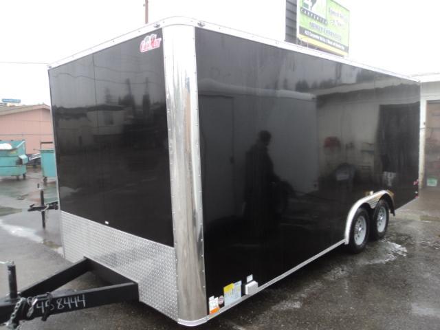 2018 Cargo Mate E-series 8.5X18 7K w/Rear Ramp DoorEnclosed Cargo Trailer