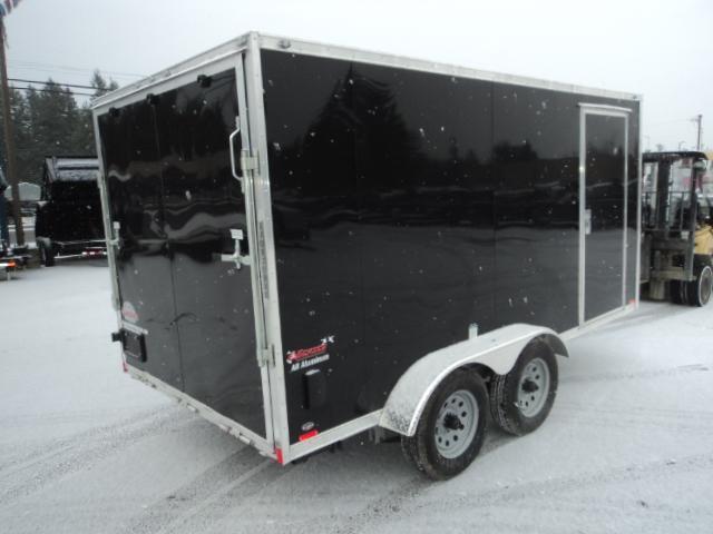2017 Cargo Mate Aluminum 7x14 7k Enclosed Cargo Trailer
