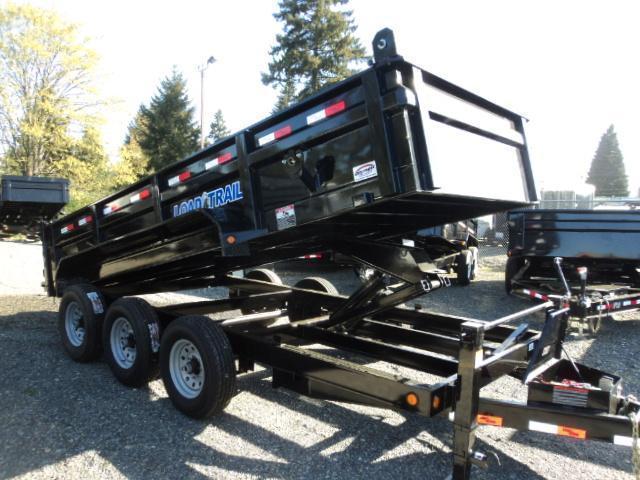 2018 Load Trail 7X16 21K Dump With Scissor Lift/Tarp Kit/Ramp[s
