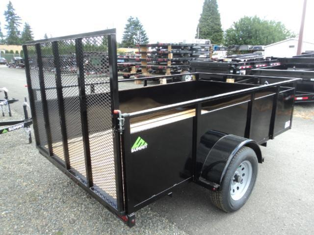 2018 Summit Alpine 6x12 Single Axle Utility Trailer