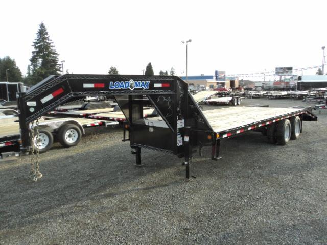 2015 Load Trail 8.5x25' 22K Heavy Duty Gooseneck 2-10K lb Axles