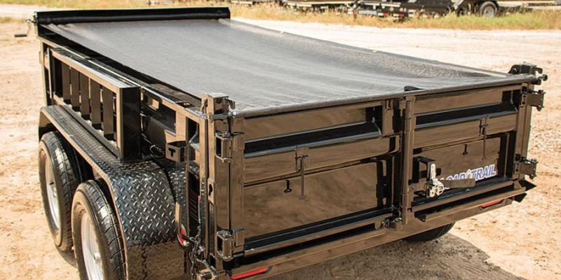 """2018 Load Trail 5X10 7K w/18"""" Sides/Tarp Kit/Ramps Tandem Axle Dump"""