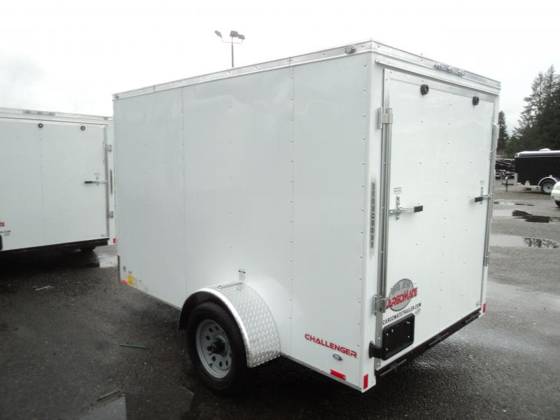 2018 Cargo Mate Challenger 6x10 w/Rear Ramp Door Cargo Enclosed Trailer
