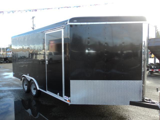 2017 Cargo Mate Blazer 8.5x16 7K  w/Rear Ramp Door Enclosed Cargo